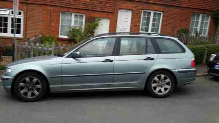 2002 BMW 320 D Se Touring, 1995CC Diesel, SPARES OR REPAIRS MOT till Jan 2016