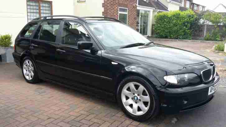 bmw 2002 320d se touring estate 2 0 turbo diesel 5 speed manual alloys. Black Bedroom Furniture Sets. Home Design Ideas