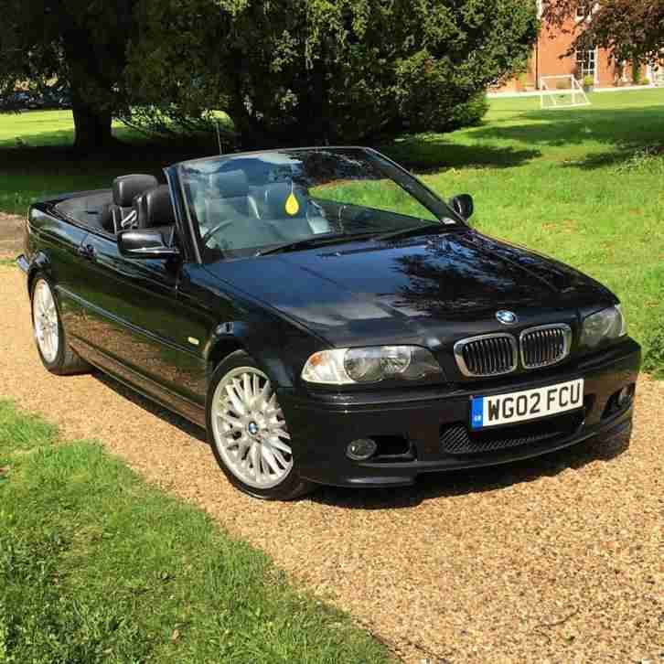 BMW 2002 325 CI M SPORT BLACK CONVERTIBLE. Car For Sale