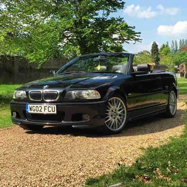 BMW 2002 325 CI M SPORT BLACK CONVERTIBLE. Car For Sale