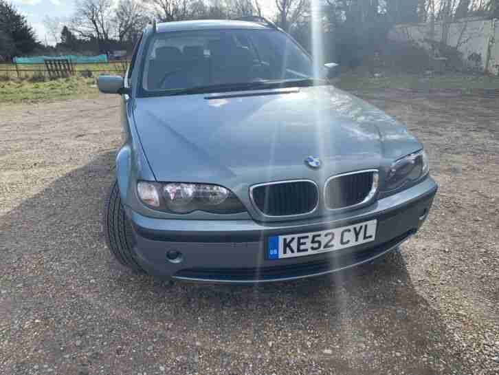 2002 BMW Touring 318 auto ONE DAY Listing.
