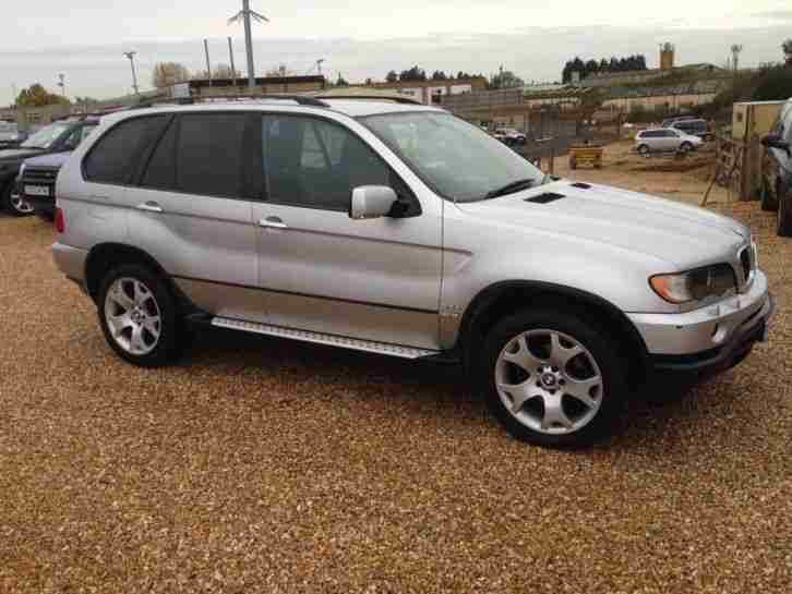 2002 BMW X5 3.0d SPORT AUTO 5DR EXCELLENT CONDITION SAT NAV FULL BLACK LEATHE...