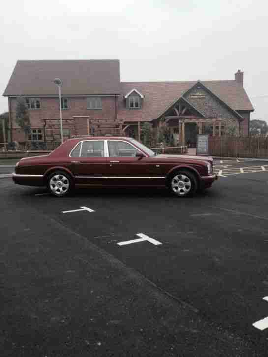 Bentley 2002 Arnage R In Sunset Red 675 Twin Turbo Very Low Miles 2