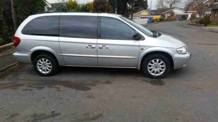 2002 GRAND VOYAGER 2.5 CRD LX SILVER