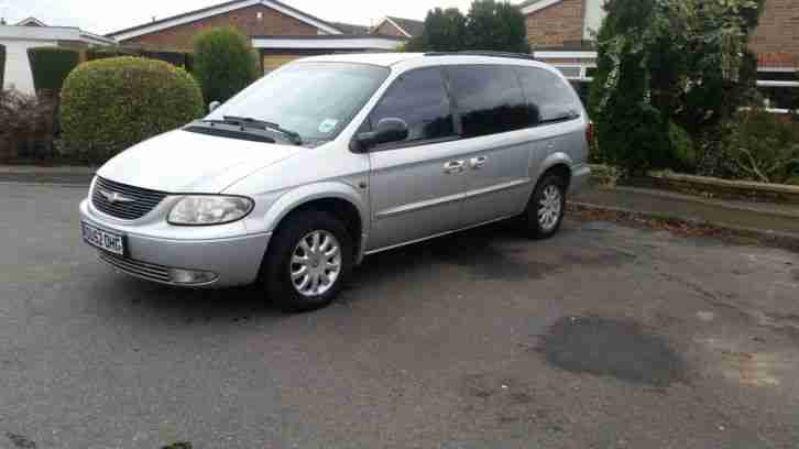 Chrysler 2002 Grand Voyager 2 5 Crd Lx Silver  Car For Sale