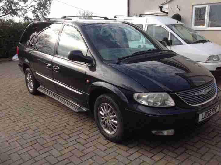 Chrysler 2002 Grand Voyager Crd Limited Grey Wheelchair
