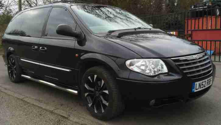 Chrysler 2002 Grand Voyager Limited Aut Black Lpg Full