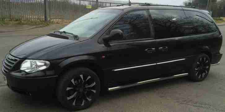 2002 CHRYSLER GRAND VOYAGER LIMITED AUT BLACK,LPG,FULL LOADED,SAT NAV,EXCELLENT