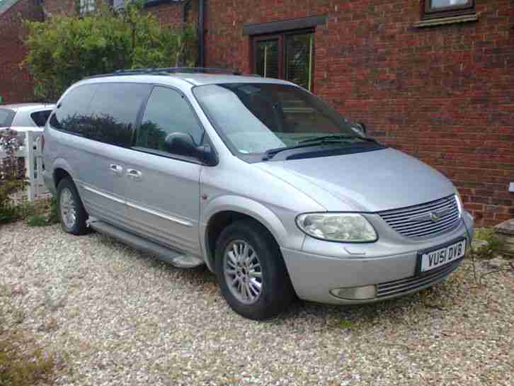 Chrysler 2002 Grand Voyager Limited Aut Silver  Car For Sale