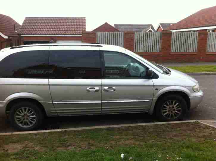 Chrysler 2002 Grand Voyager Limited Aut Silver Spares Or