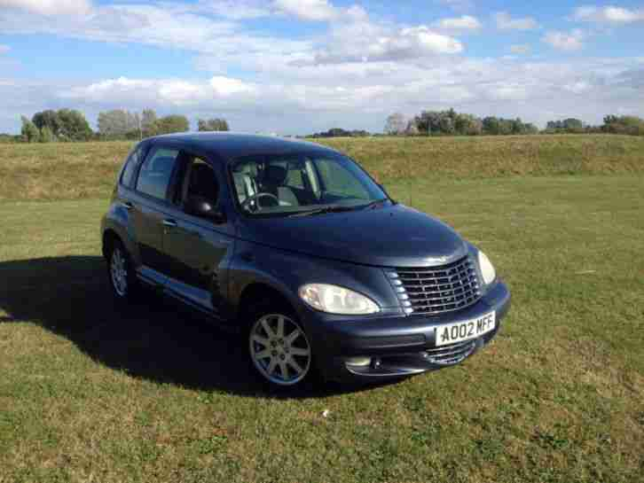 2002 CHRYSLER PT CRUISER LIMITED CRD BLUE