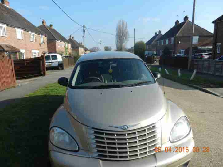 2002 CHRYSLER PT CRUISER TOURING BEIGE