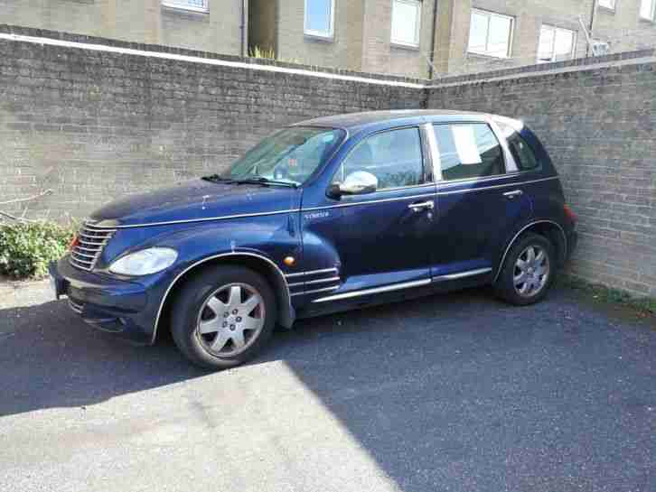 2002 PT CRUISER TOURING BLUE