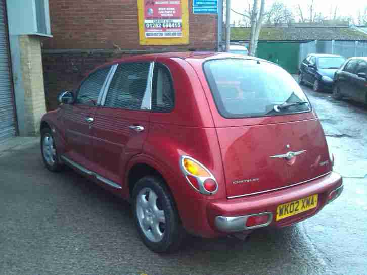 2002 CHRYSLER PT CRUISER TOURING RED, 8 months MOT