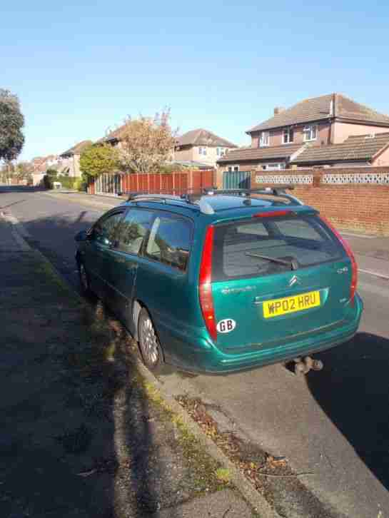 2002 CITROEN C5 HPI EXCLUSIVE GREEN SPARES OR REPAIRS