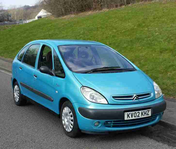 citroen 2002 xsara picasso 1 6 sx 8v blue car for sale. Black Bedroom Furniture Sets. Home Design Ideas