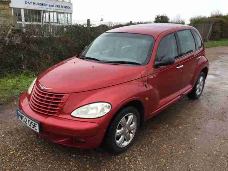chrysler 2002 pt cruiser limited 2 2l crd turbo diesel in red only 76k. Black Bedroom Furniture Sets. Home Design Ideas