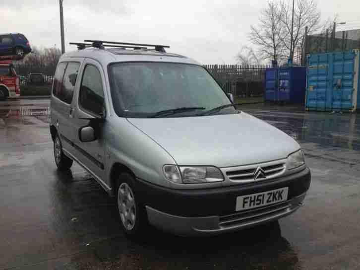 2002 Citroen Berlingo 1.6i 16v Multispace Forte