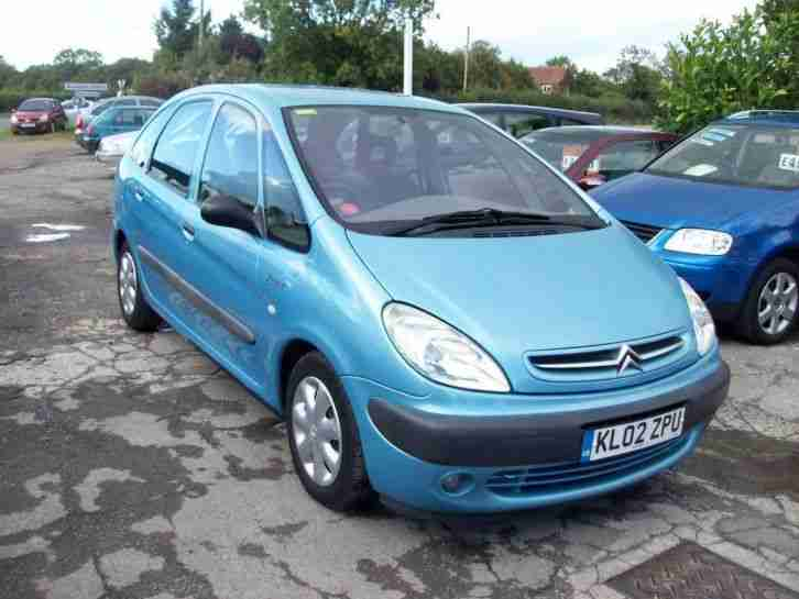 citroen 2002 xsara picasso 1 8 i 16v sx 5dr car for sale. Black Bedroom Furniture Sets. Home Design Ideas