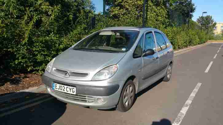 citroen 2002 xsara picasso 2 0 hdi diesel sx silver 53mpg recent cam. Black Bedroom Furniture Sets. Home Design Ideas