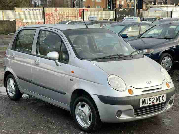 2002 MATIZ 0.8L 5 DOOR + MEGA LOW 54K