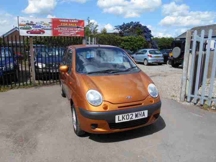 2002 MATIZ EZ PLUS ORANGE