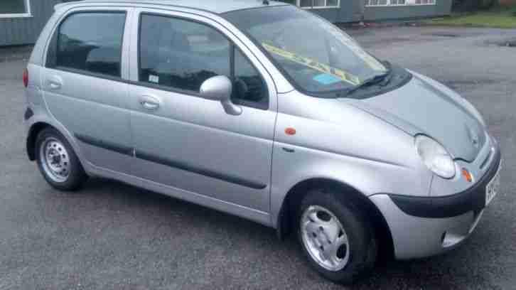 Daewoo 2002 MATIZ EZ PLUS SILVER. car for sale