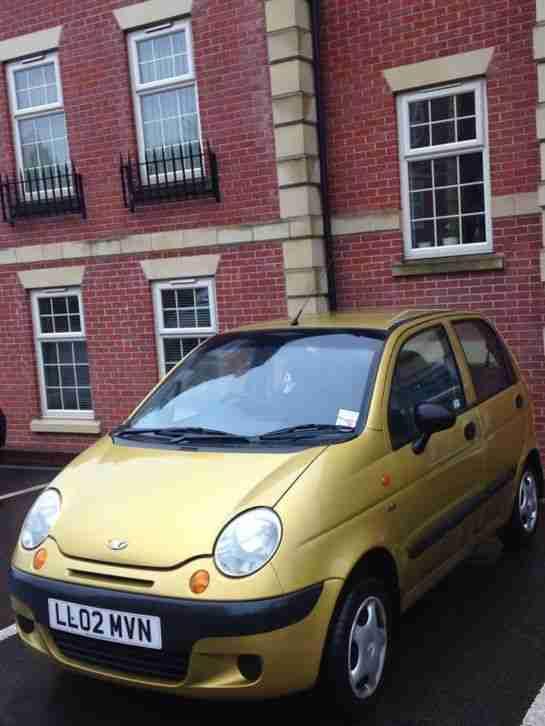 Daewoo 2002 MATIZ SE GOLD. car for sale