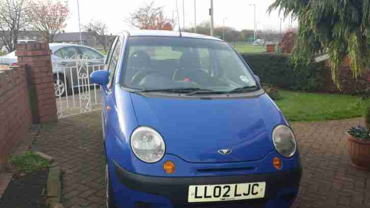 2002 DAEWOO MATIZ SE PLUS BLUE