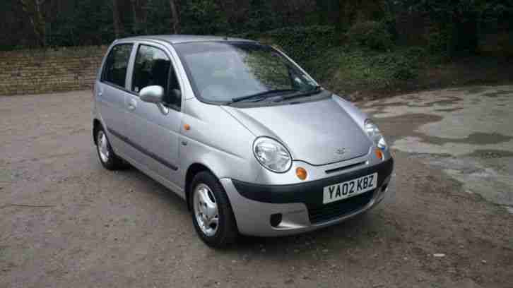 Daewoo 2002 MATIZ SE PLUS SILVER 796cc ONLY ONE OWNER FROM NEW WITH