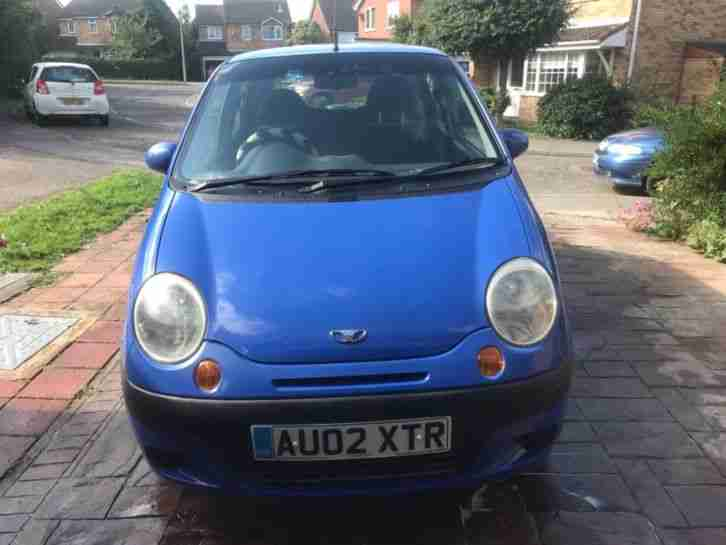 2002 Daewoo Matiz ideal first car