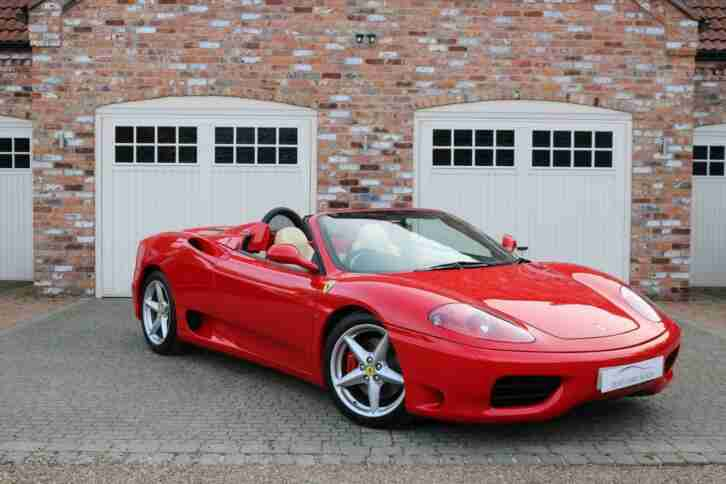2002 360 SPIDER CONVERTIBLE PETROL