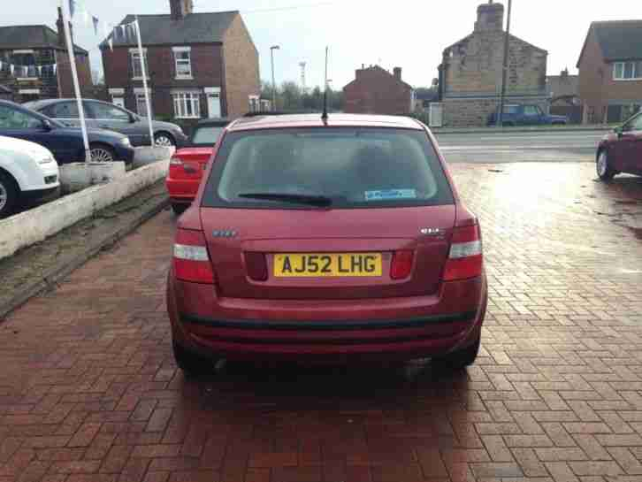2002 FIAT STILO 1.2 16V ACTIVE RED 6 SPEED