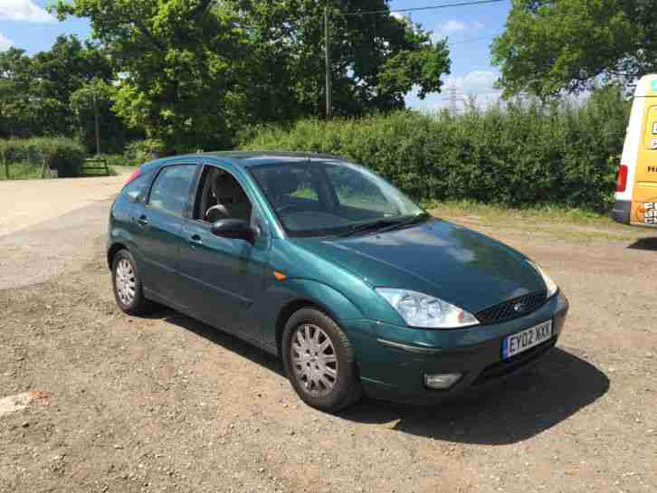 ford 2002 focus ghia tdci spares or repair car for sale. Black Bedroom Furniture Sets. Home Design Ideas