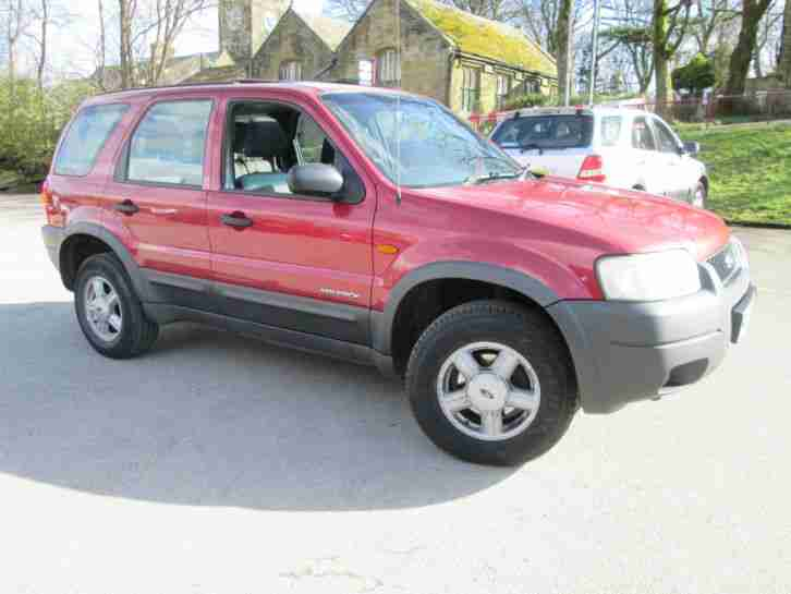 2002 FORD MAVERICK ZETEC 4x4 NEW SHAPE 4x4 5 DOOR EXCELLENT VALUE