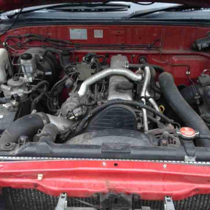 Ford 2002 RANGER SUPER CAB DIESEL RED. Car For Sale