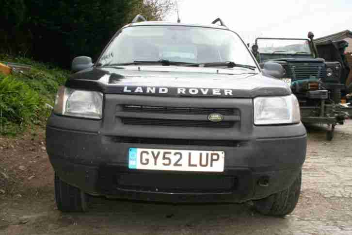 2002 FREELANDER 1.8 PETROL 5 DR SPARES REPAIR RUNS & DRIVES WELL