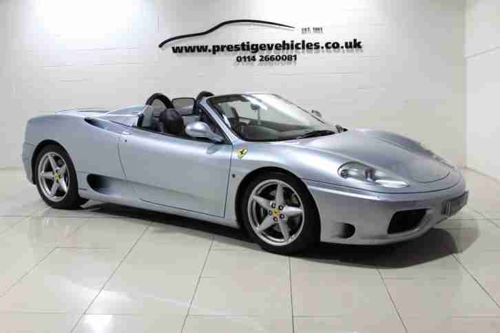 2002 Ferrari 360 F1 SPIDER Petrol blue Manual