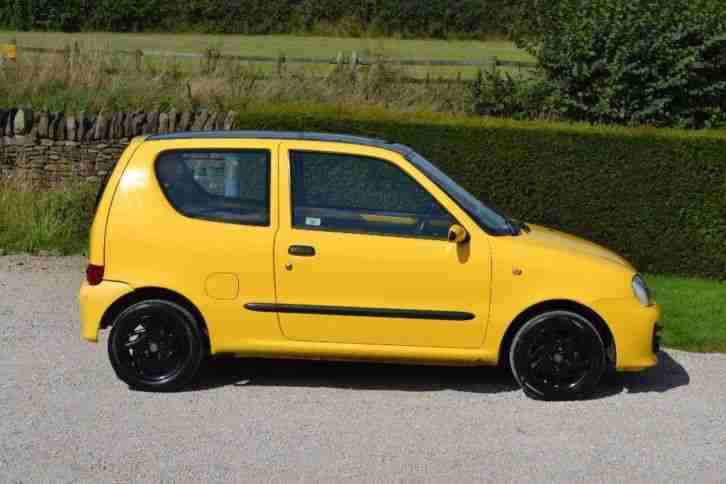 Fiat 2002 Seicento 1.1 Sporting 3dr. car for sale