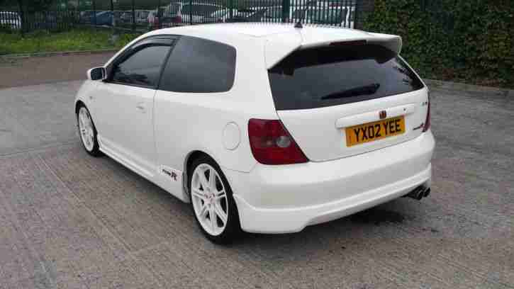 honda 2002 civic type r ep3 championship white car for sale. Black Bedroom Furniture Sets. Home Design Ideas