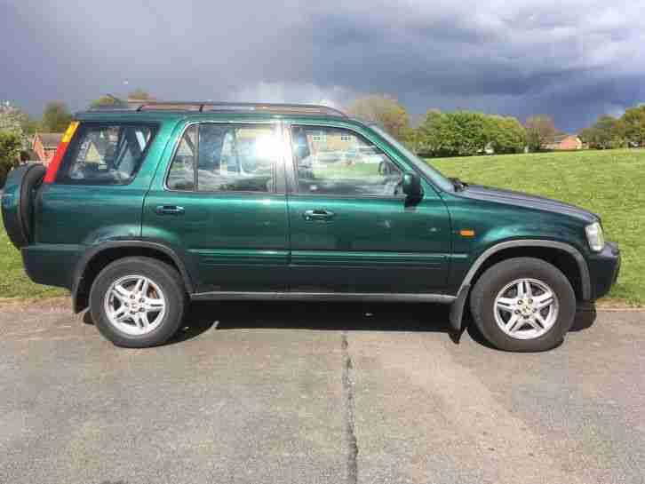 Honda 2002 crv green 2 litre petrol mot september 14th for 2002 honda crv specs