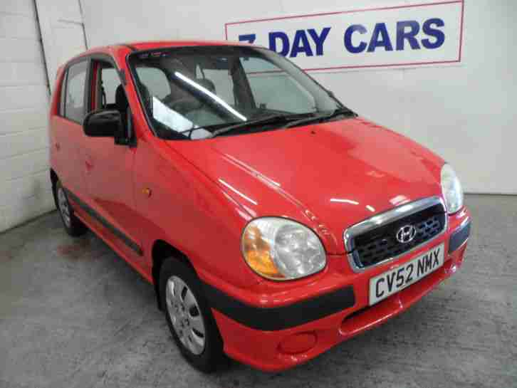 2002 AMICA SI RED 1.0 PETROL 5 DOOR
