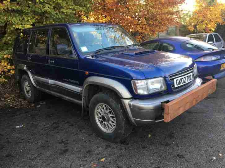 2002 TROOPER CITATION DT LWB BLUE GREY