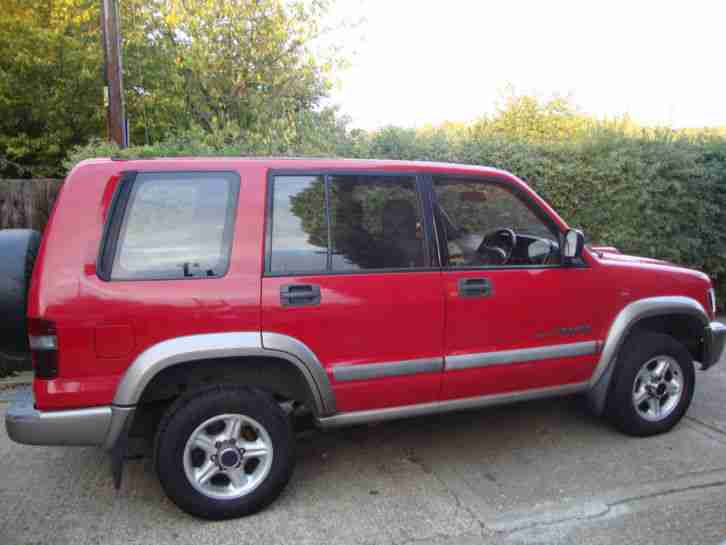 2002 ISUZU TROOPER DUTY DT LWB RED