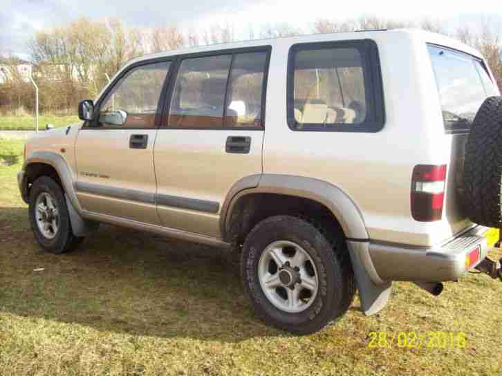 2002 ISUZU TROOPER DUTY DT LWB SILVER