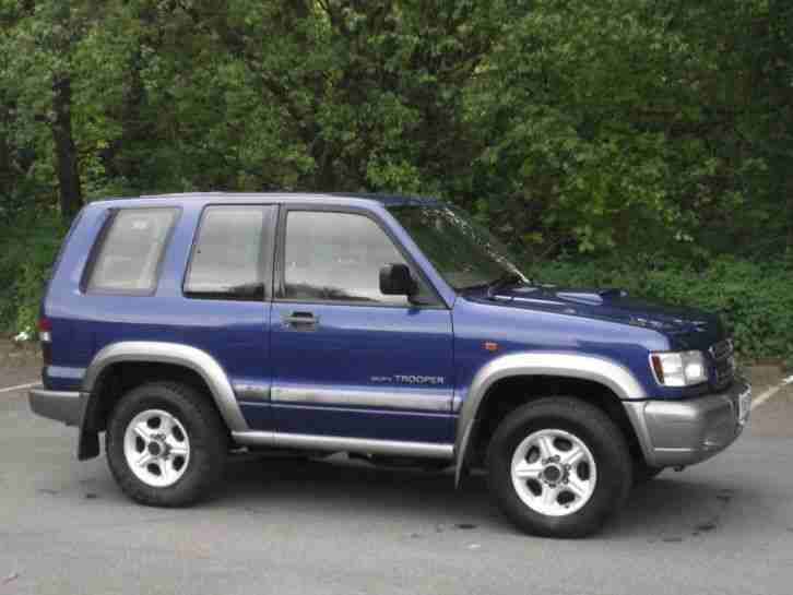 isuzu 2002 trooper 3 1 turbo duty 3dr 3 door estate  car