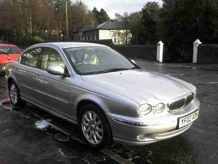 jaguar 2002 x type awd 2 5 4x4 manual silver car for sale. Black Bedroom Furniture Sets. Home Design Ideas