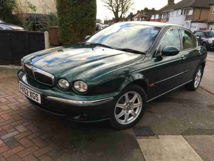 2002 JAGUAR X-TYPE V6 GREEN