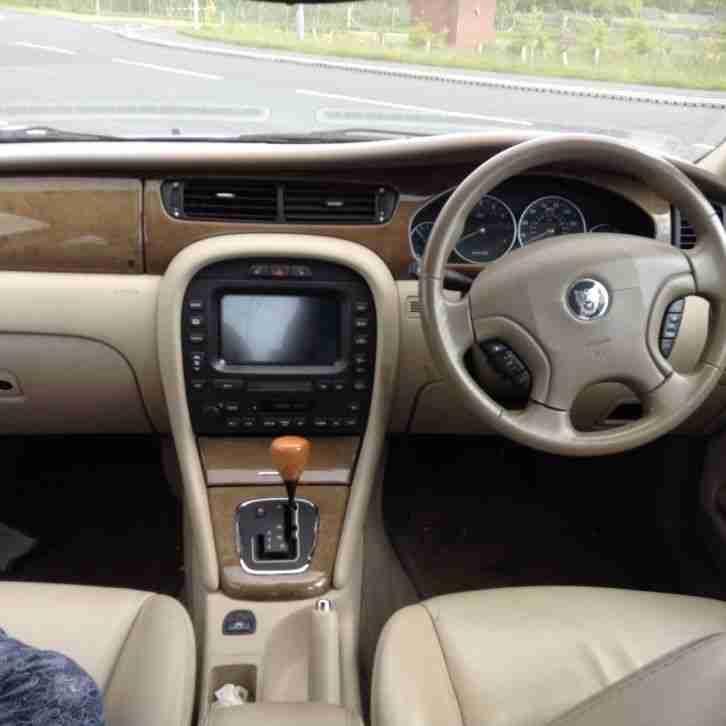 2003 Jaguar X Type Interior: Jaguar 2002 X TYPE V6 SE AUTO BLUE. Car For Sale