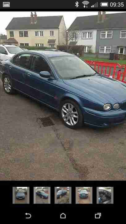 2002 JAGUAR X-TYPE V6 SPORT AUTO BLUE SPARES/REPAIRS